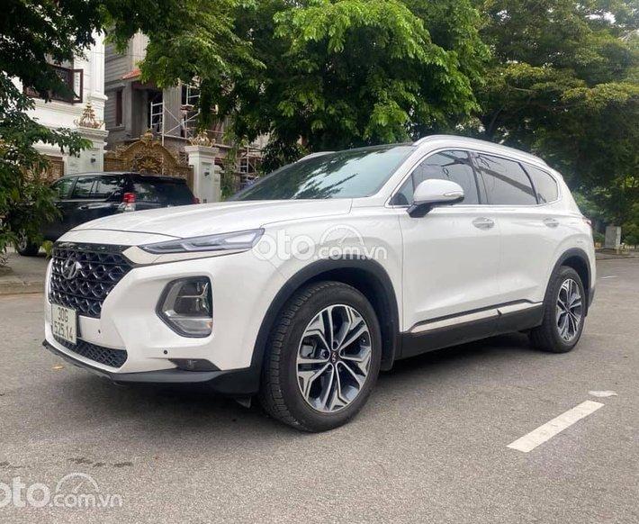 Hyundai Santafe premium 2.2AT 2020 Full dầu0