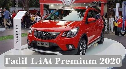 Bán VinFast Fadil 1.4AT Premium 2020, màu đỏ chính chủ0