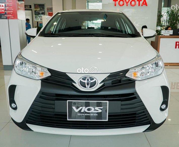 [Toyota HCM] Toyota Vios E 2021 tháng 9 - tặng camera hành trình - hỗ trợ phí trước bạ0