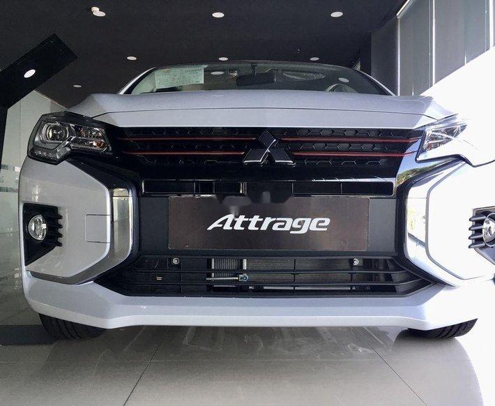 Bán Mitsubishi Attrage 2020, màu trắng, xe nhập0