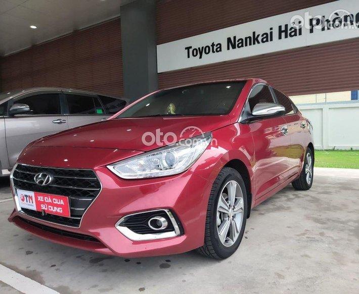 Bán xe Hyundai Accent đời 2019, màu đỏ0