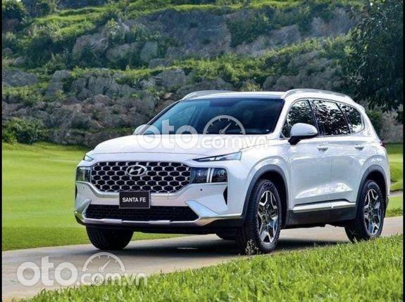 Hyundai SantaFe 2021- tháng 7 giá tốt nhất miền Bắc, giảm 20tr, lấy xe chỉ từ 200tr, bộ quà tặng phụ khủng0