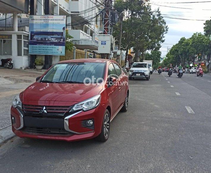 Mitsubishi Attrage 2021-giảm 23 triệu 50% trước bạ, giao ngay0