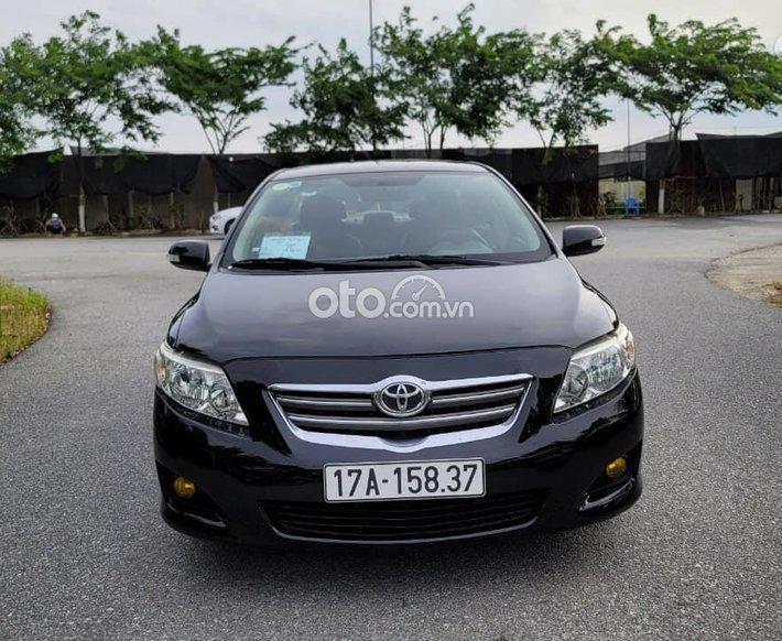 Bán ô tô Toyota Corolla Altis năm sản xuất 2010, màu đen, nhập khẩu số sàn0