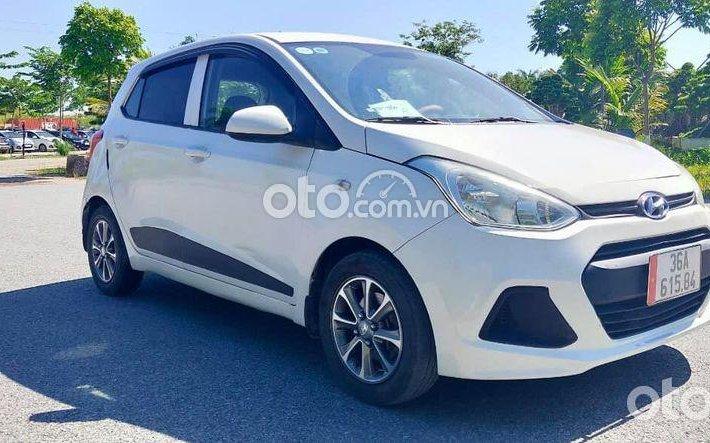 Bán ô tô Hyundai Grand i10 năm sản xuất 2014, màu trắng, nhập khẩu nguyên chiếc như mới0