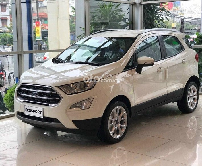 Cần bán Ford EcoSport Trend 1.5 2021, màu trắng, giá chỉ 603 triệu0
