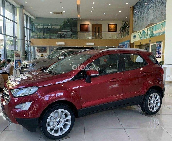 Bán Ford EcoSport Titanium 1.5 2021, màu đỏ, 646tr0