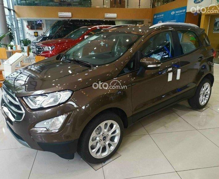 Bán Ford EcoSport Titanium 1.0 đời 2021, màu nâu, giá tốt0