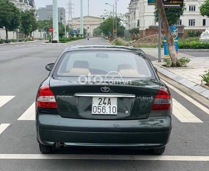 Bán xe Daewoo Nubira 2000, màu xanh0