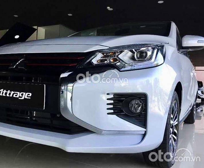 Bán xe Mitsubishi Attrage 1.2 CVT năm sản xuất 2021, màu bạc, xe nhập0