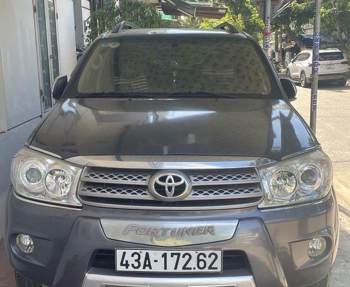 Cần bán lại xe Toyota Fortuner sản xuất năm 2009, nhập khẩu còn mới, 380tr0