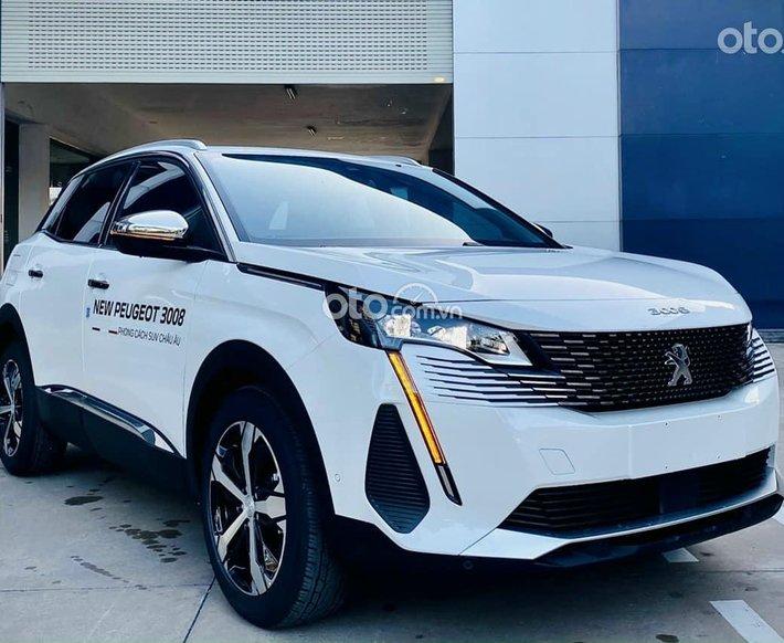 Bán ô tô Peugeot 3008 sản xuất năm 2021, màu trắng, nhập khẩu0