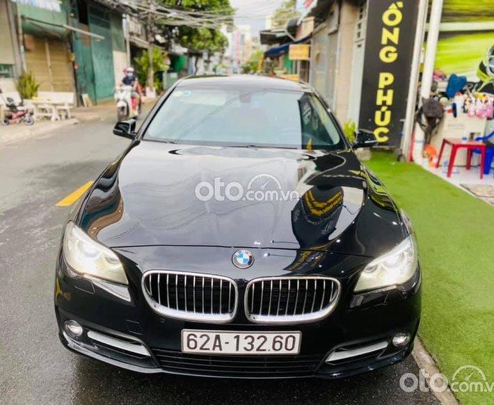 Bán BMW 520i năm sản xuất 2014, màu đen, nhập khẩu nguyên chiếc0