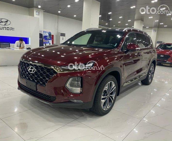 Bán xe Hyundai Santa Fe đời 2021, màu đỏ, 982 triệu0