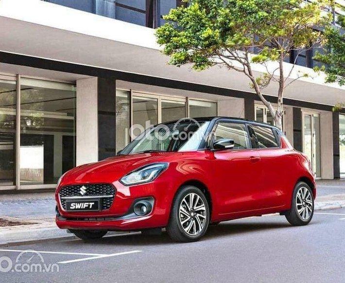 Bán ô tô Suzuki Swift đời 2021, màu đỏ0