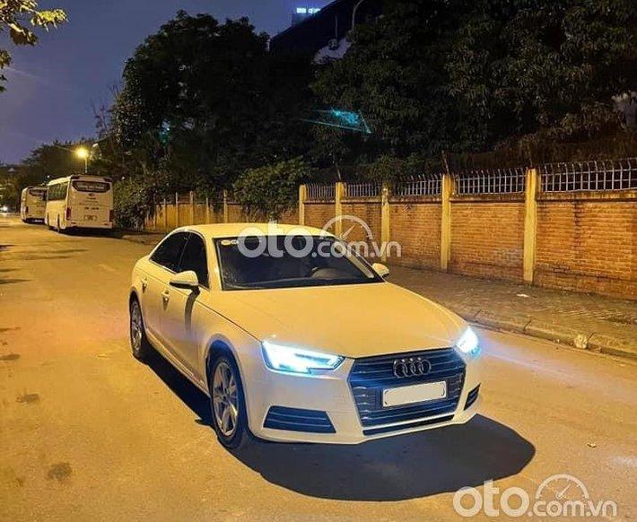 Audi A4 TFSI 2017 trắng nâu, biển cực vip0