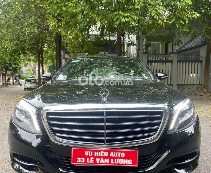 Cần bán gấp Mercedes S400 đời 2015, màu đen, xe nhập0