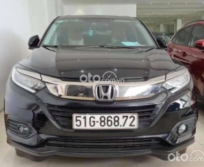 Cần bán gấp Honda HR-V năm 2010, màu đen chính chủ0