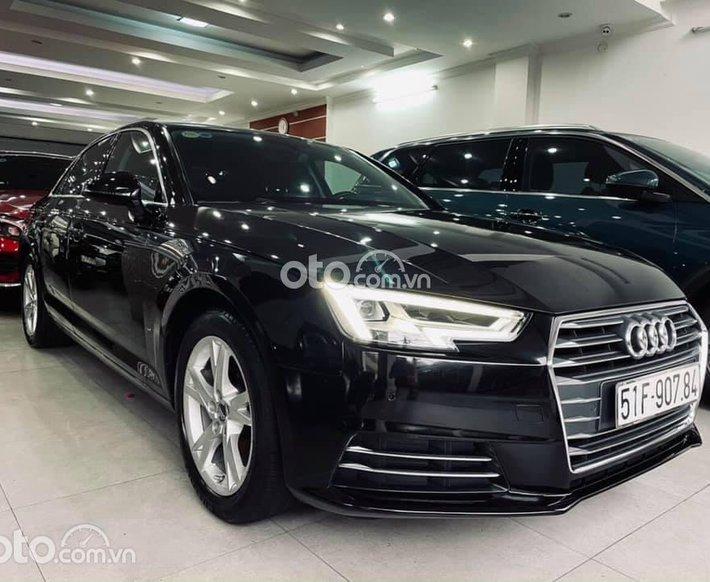 Bán Audi A4 năm sản xuất 2016, màu đen0