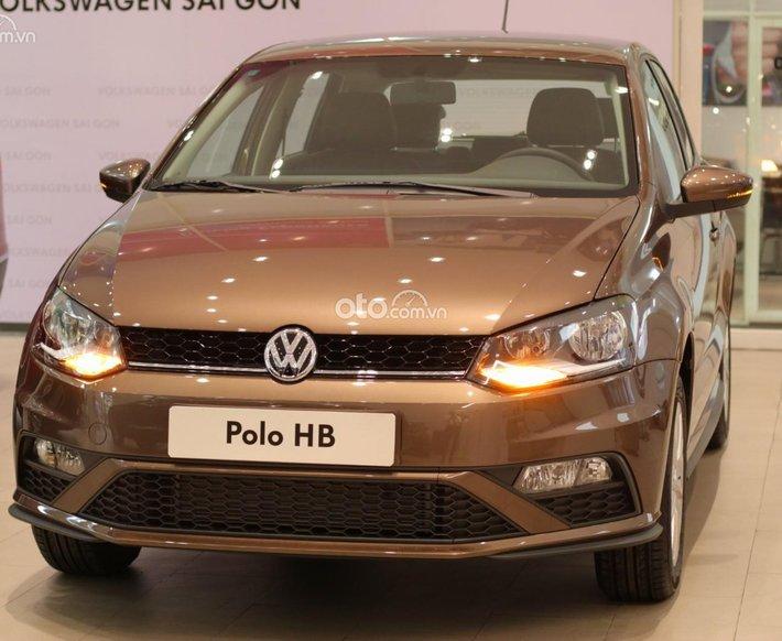 Volkswagen Polo Hatchback nâu hổ phách - Xe Đức nhập khẩu 2021 100% - xe nhiều màu có sẵn - giao ngay - nhiều ưu đãi hấp dẫn0