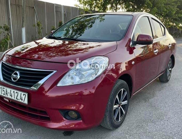 Cần bán lại xe Nissan Sunny XL sản xuất 2015, màu đỏ số sàn, giá 238tr0