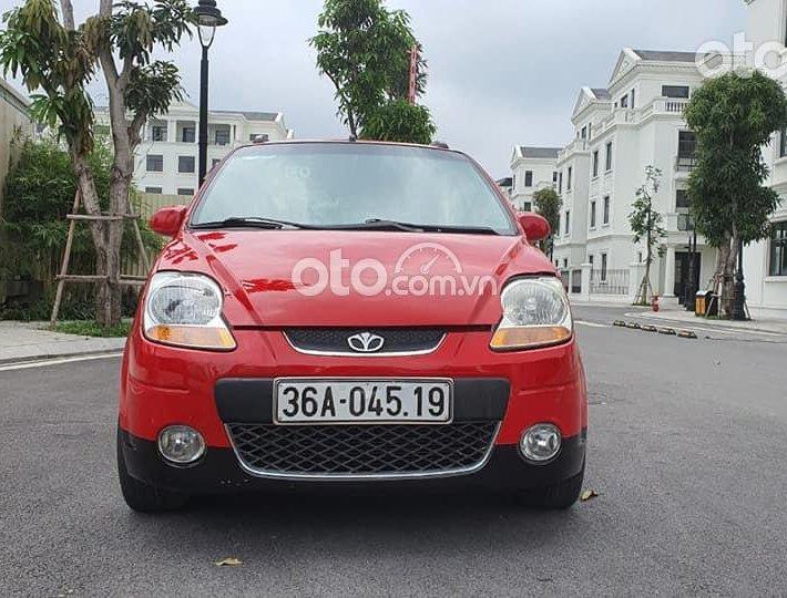 Cần bán gấp Daewoo Matiz đời 2008, màu đỏ, nhập khẩu số tự động0