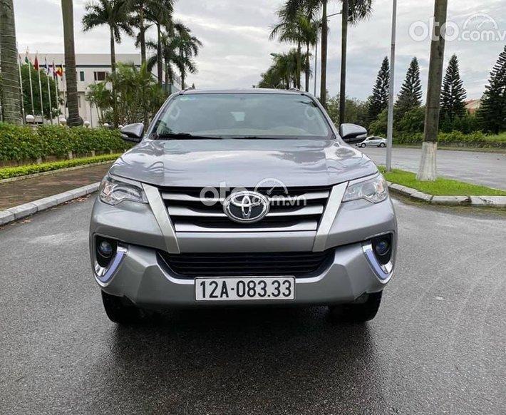 Cần bán Toyota Fortuner 2017 nhập khẩu, số sàn máy dầu0