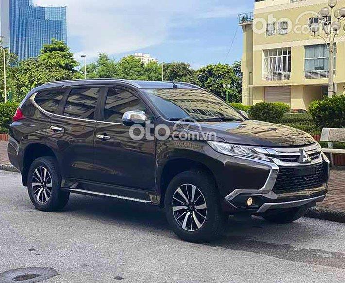 Bán Mitsubishi Pajero 2018, màu nâu, xe nhập còn mới0