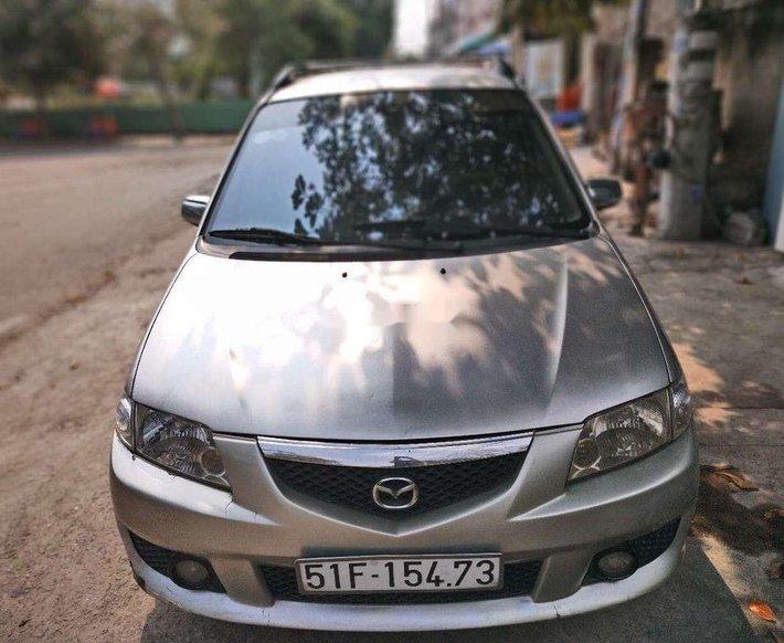 Cần bán Mazda Premacy sản xuất 2003, màu bạc, nhập khẩu còn mới0