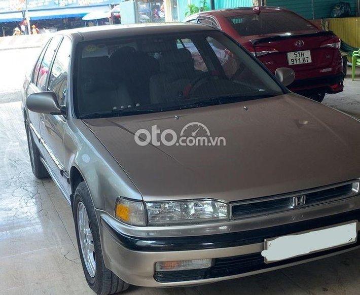 Cần bán Honda Accord 1991, bản nhập xe cọp, máy móc êm ái0