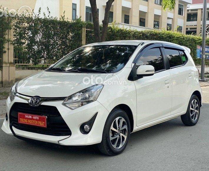 Cần bán gấp Toyota Wigo sản xuất 2018, màu trắng, giá tốt0