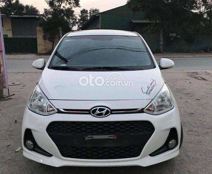 Cần bán Hyundai Grand i10 sản xuất năm 2018, màu trắng số sàn0