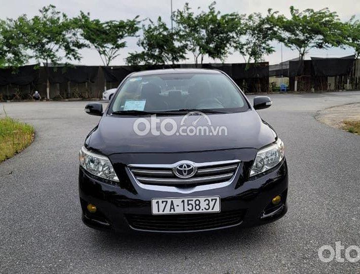 Cần bán xe Toyota Corolla Altis sản xuất năm 2008, màu đen0