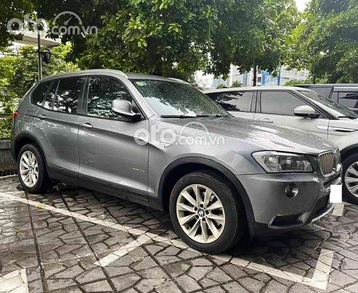 Bán BMW X3 sản xuất năm 2012, màu xám, xe nhập còn mới0