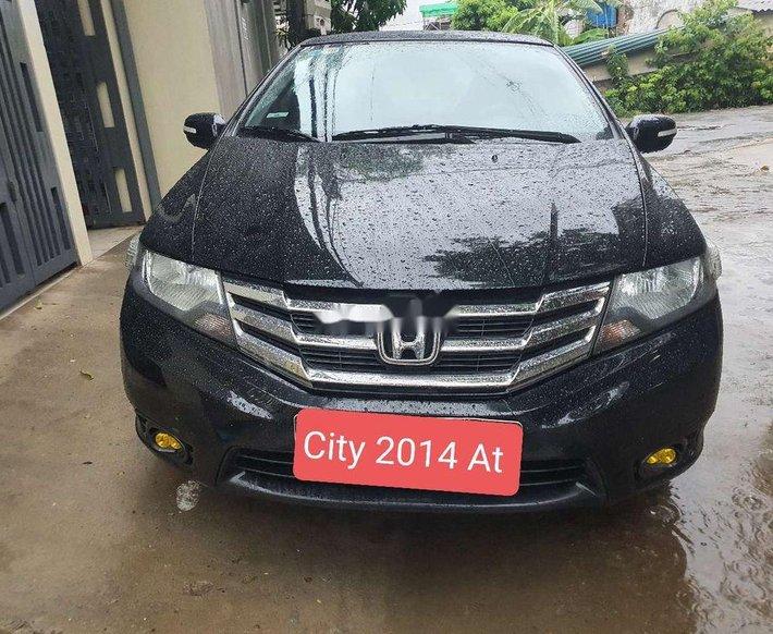Bán ô tô Honda City năm 2014, màu đen0