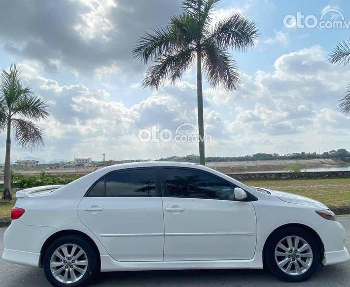 Bán Toyota Corolla 2009, màu trắng, xe nhập số tự động, 397tr0