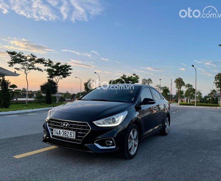 Bán xe Hyundai Accent đời 2019, màu đen số tự động0
