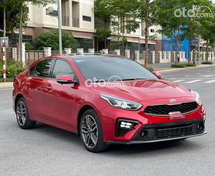 Bán Kia Cerato 2.0AT Premium 2020, màu đỏ, 625tr0
