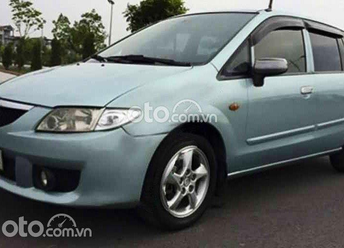 Bán Mazda Premacy năm 2003, màu xanh lam, xe nhập còn mới, giá chỉ 155 triệu0