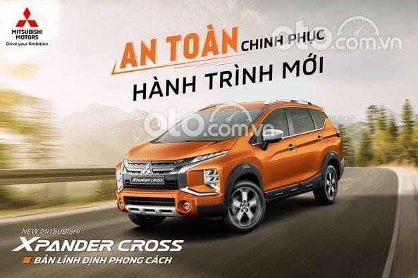 Cần bán xe Mitsubishi Xpander Cross năm sản xuất 2021, màu nâu giá cạnh tranh0
