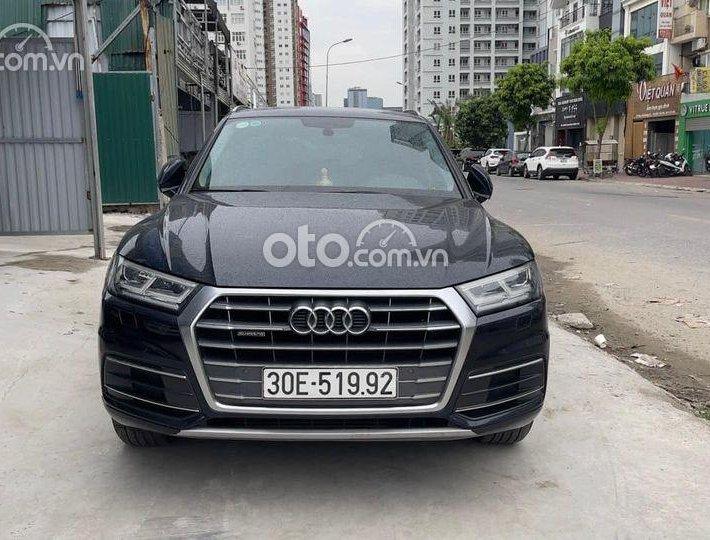 Xe Audi Q5 đời 2017, màu xanh lam, nhập khẩu nguyên chiếc còn mới0