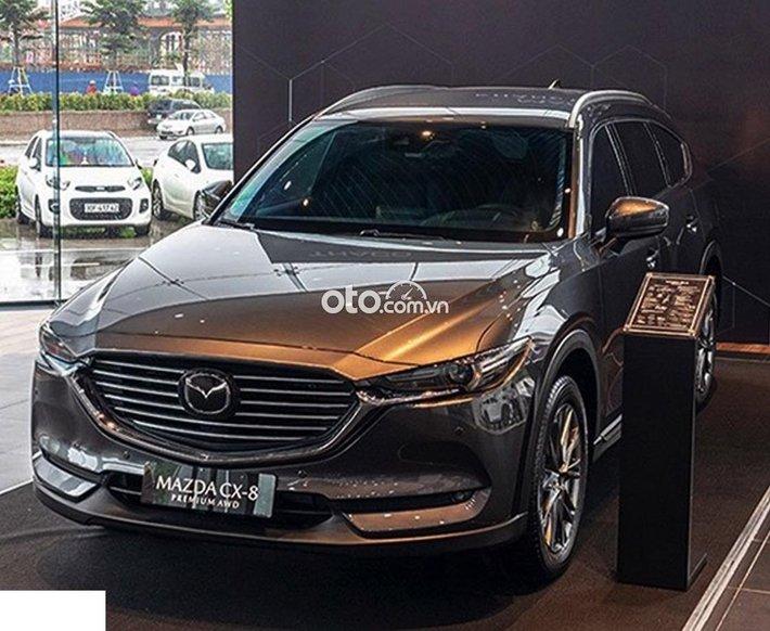 Mazda CX8 _ 2021 nhận xe chỉ từ 250tr, hỗ trợ trả góp 80%, tặng phụ kiện, full màu, sẵn xe giao ngay0