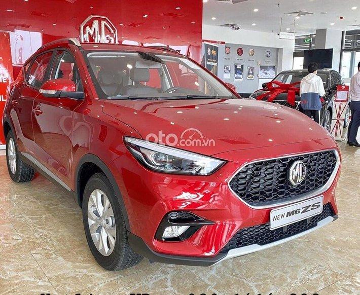 Bán MG ZS Standard năm 2021, màu đỏ, nhập khẩu nguyên chiếc0