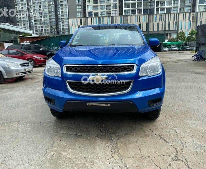 Bán Chevrolet Colorado đời 2016, màu xanh lam, xe nhập0