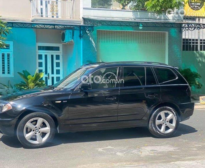 Bán BMW X3 đời 2003, màu đen, xe nhập, giá chỉ 228 triệu0