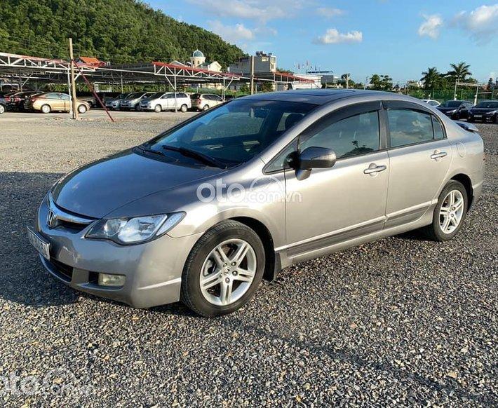 Cần bán Honda Civic 2008, màu xám số tự động0