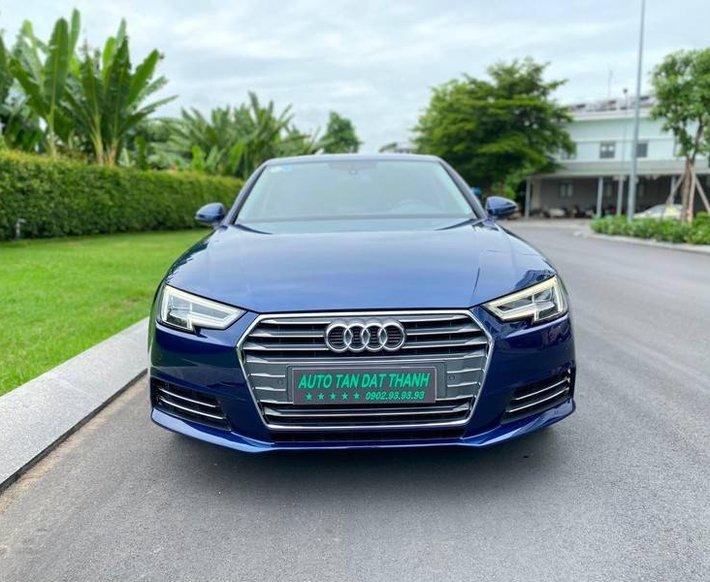 Bán ô tô Audi A4 sản xuất năm 2016, màu xanh Cavanside, nhập khẩu nguyên chiếc0
