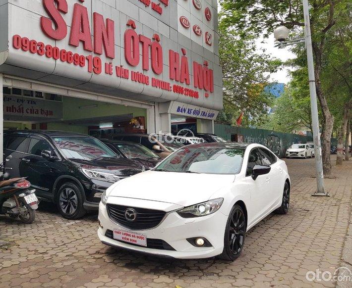 Mazda 6 2.5 sản xuất 2014 màu trắng, xe tư nhân chính chủ0
