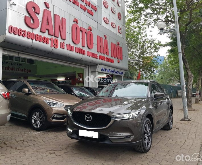 Sàn ô tô Hà Nội bán Mazda CX5 2.5 bản full màu nâu sx 2018 xe tư nhân chính chủ một chủ từ đầu0
