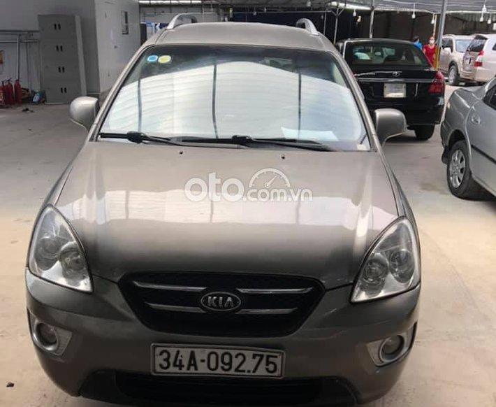 Bán Hyundai Santa Fe 2007, màu xám số tự động, giá 200tr0